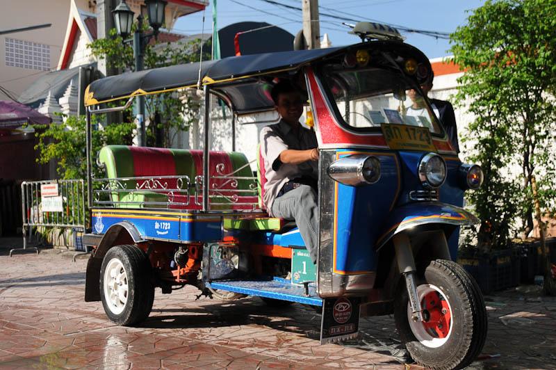 Bangkok, Tuk Tuk Taxi, www.wo-der-pfeffer-waechst.de