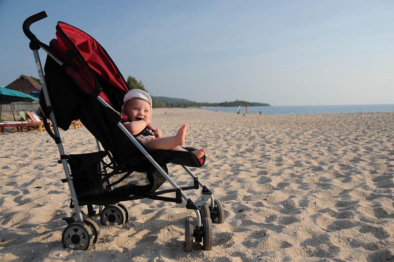 Elternzeit, Reisen mit Babys und Kleinkindern, Thailand, Südostasien, Koh Lanta, www.wo-der-pfeffer-waechst.de