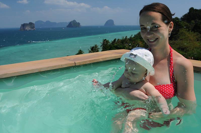 Elternzeit, Reisen mit Babys und Kleinkindern, Thailand, Südostasien, Koh Ngai, www.wo-der-pfeffer-waechst.de