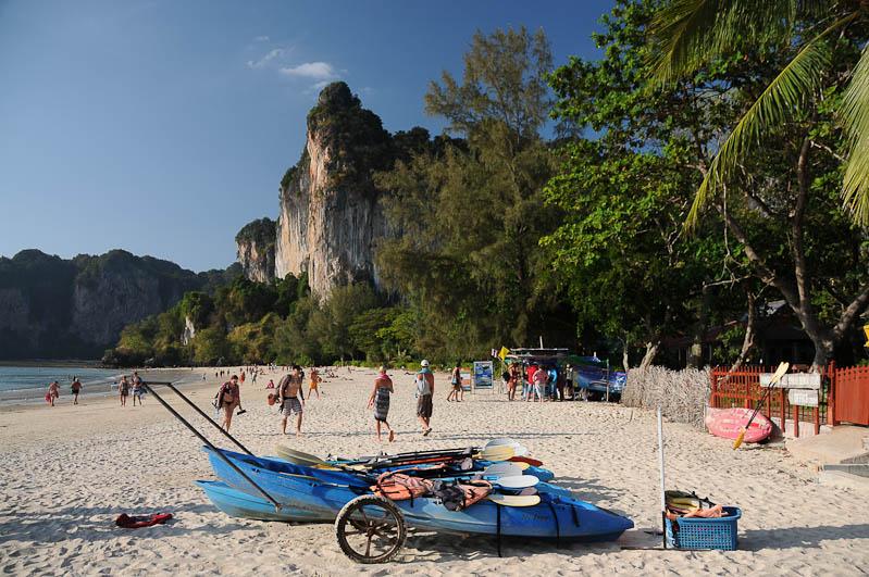 Thailand, Krabi, Railey Beach, Strände, Reiseberichte, www.wo-der-pfeffer-waechst.de