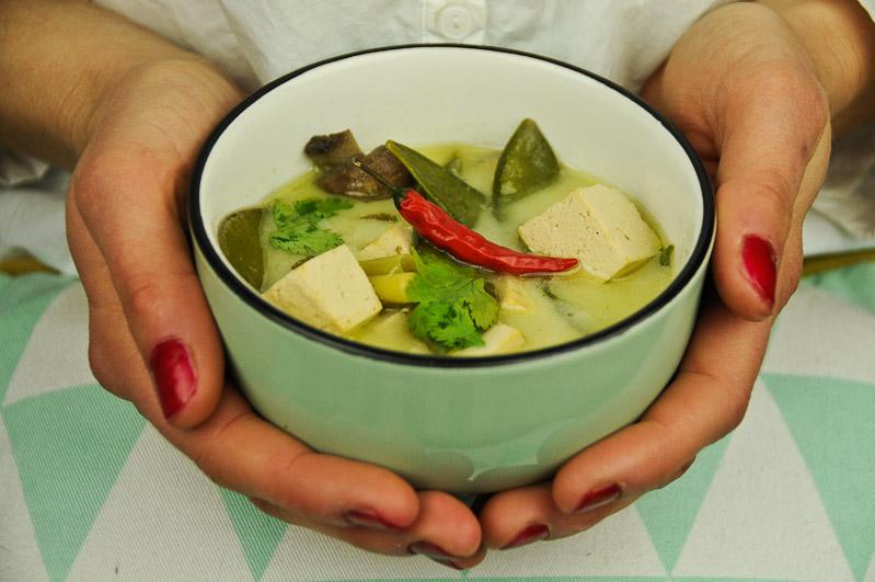 Tom Kha Gai mit Tofu statt Huhn, www.wo-der-pfeffer-waechst.de