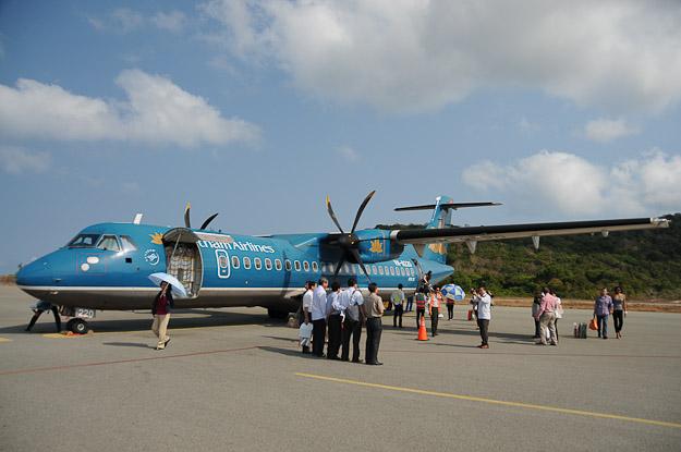 Vé máy bay  Kiên Giang đi Côn Đảo