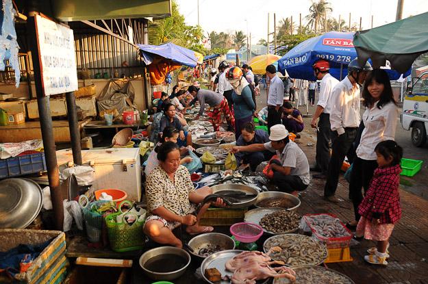 Vietnam, Con Dao, Con Son, Markt, www.wo-der-pfeffer-waechst.de