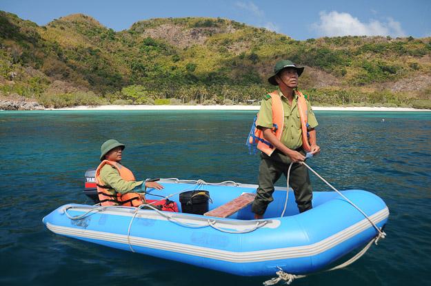 Vietnam, Con Dao, National Park Ranger, www.wo-der-pfeffer-waechst.de