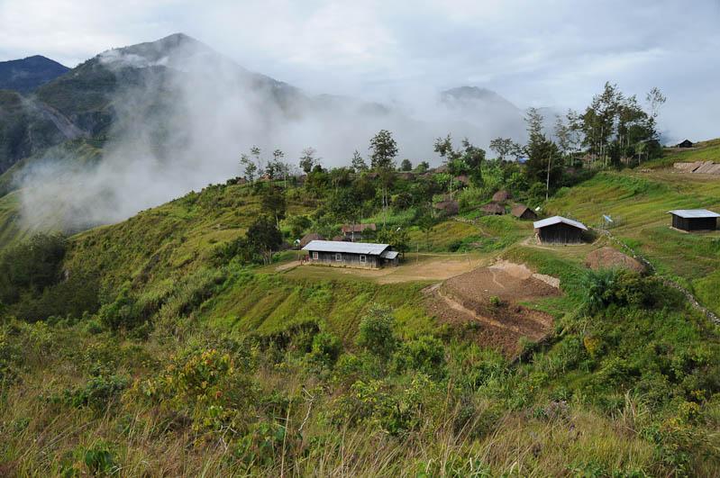 Indonesien, West-Papua, Wamena, Baliem-Tal, valley, Trekking, Dorf, www.wo-der-pfeffer-waechst.de
