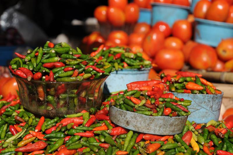 Indonesien, Sumba, Insel, Waikabubak, Markt, Chilischoten, Reisebericht, www.wo-der-pfeffer-waechst.de