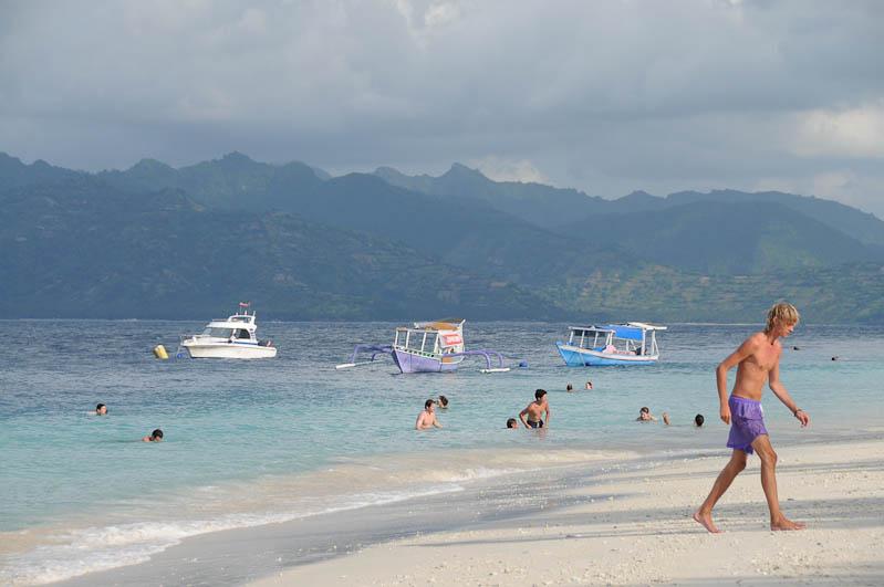 Gili Trawangan, Gili-Inseln, Gilis, Strand, Strände, Beach, pantai, Lombok, Indonesien, Indonesia, Reiseberichte, www.wo-der-pfeffer-waechst.de