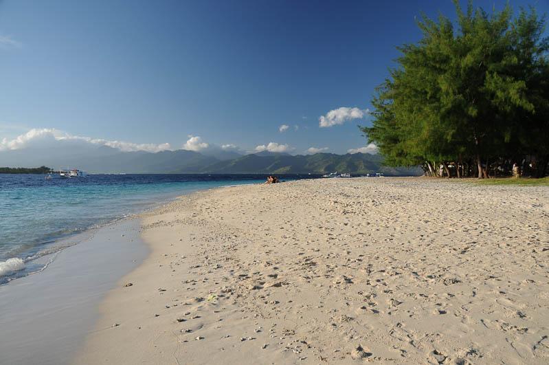 Gili Trawangan, Strand, Beach, Strände, Gili-Inseln, Gilis, Lombok, Indonesien, Indonesia, Reiseberichte, www.wo-der-pfeffer-waechst.de