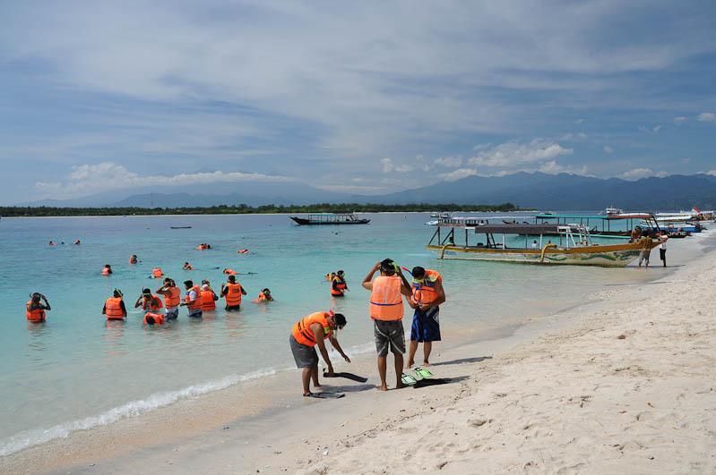 Gili Trawangan, Strand, Beach, Strände, Gili-Inseln, Gilis, Schnorcheln, Lombok, Indonesien, Indonesia, Reiseberichte, www.wo-der-pfeffer-waechst.de
