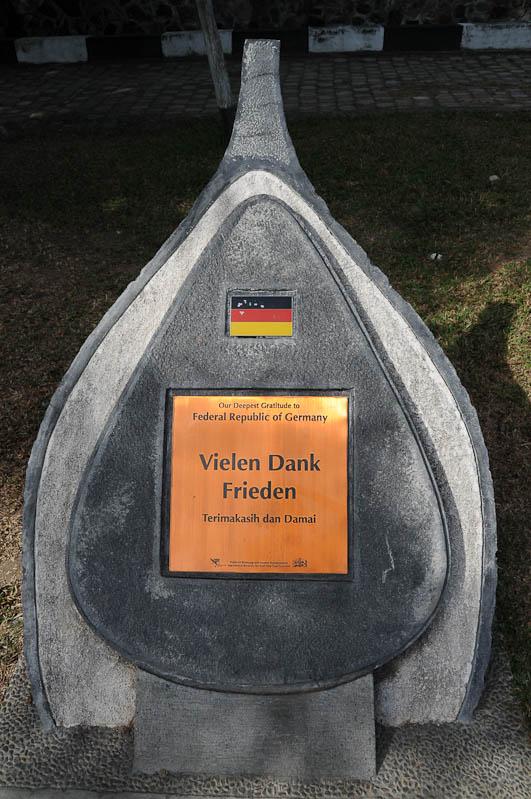 Indonesien, Indonesia, Sumatra, Banda Aceh, Tsunami, Denkmal, Spenden aus Deutschland, Reiseberichte, www.wo-der-pfeffer-waechst.de