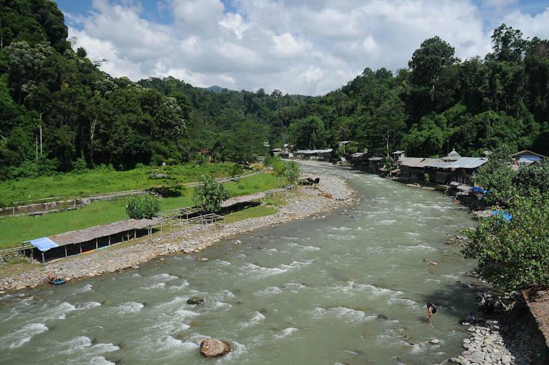 Bukit Lawang, Gunung-Leuser-Nationalpark, Nord-Sumatra, Fluss, Indonesien, Indonesia, Reisebericht, www.wo-der-pfeffer-waechst.de