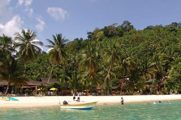 Malaysia, Tioman Island, Inseln, Salang Beach, Strände, Reiseberichte, www.wo-der-pfeffer-waechst.de