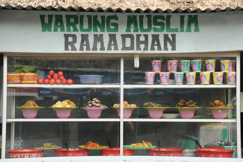 Warung Muslim Ramadhan, Restaurant, Bukit Lawang, Fluss, Gunung-Leuser-Nationalpark, Nord-Sumatra, Indonesien, Indonesia, Reisebericht, www.wo-der-pfeffer-waechst.de