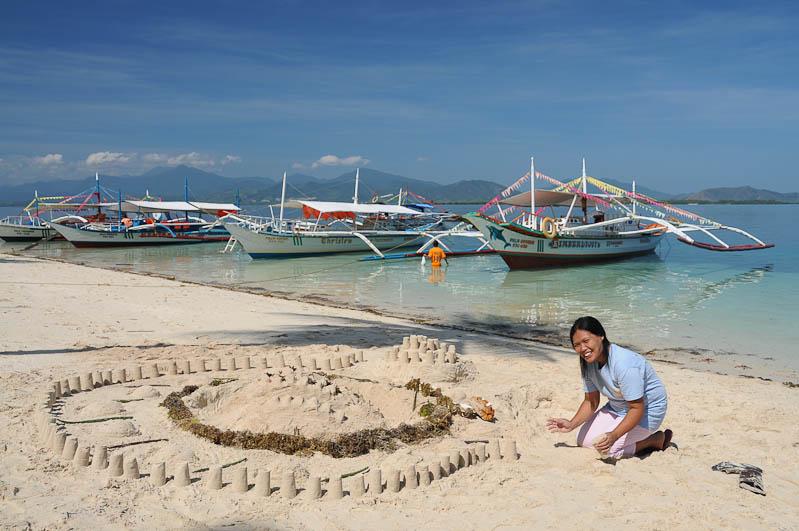 Honda Bay, Puerto Princesa, Palawan, Beach, Strand, Strände, Philippinen, Insel, Reisebericht, www.wo-der-pfeffer-waechst.de