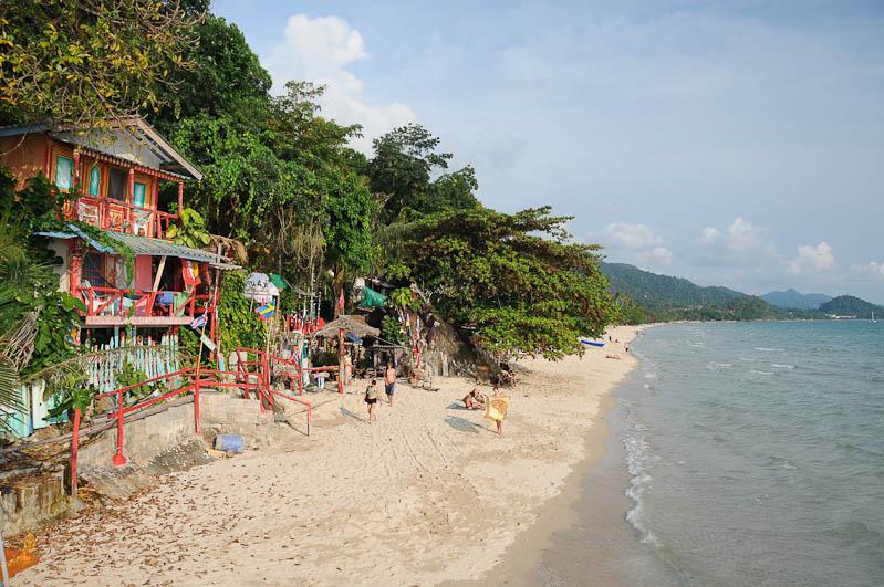 Koh Chang, White Sand Beach, Hat, Had, Sai Khao, Strand, Strände, Golf von Thailand, Insel, Reisebericht, www.wo-der-pfeffer-waechst.de