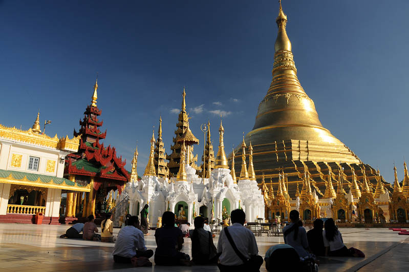 Yangon, Rangoon, Rangun, Shwedagon-Pagode, Pagoda, buddhistischer Tempel, Stupa, Myanmar, Burma, Birma, Reisebericht, www.wo-der-pfeffer-waechst.de