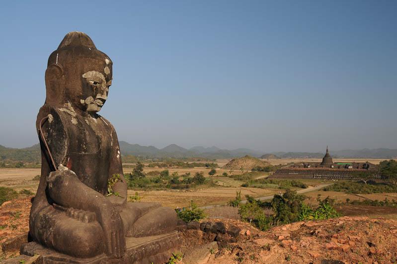 Kothaung-Tempel, Mrauk U, Tempel, Paya, Pagoden, Rakhine-Staat, State, Division, Ruine, Schrein der 90.000 Bildnisse, Myanmar, Burma, Birma, Reisebericht, www.wo-der-pfeffer-waechst.de