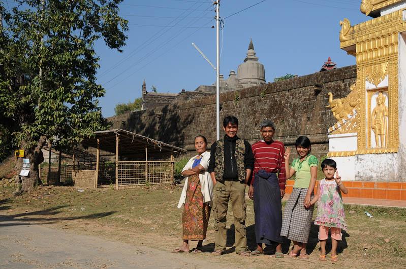 Shittaung-Tempel, Mrauk U, Tempel, Paya, Pagoden, Rakhine-Staat, State, Division, Locals, Ruine, Myanmar, Burma, Birma, Reisebericht, www.wo-der-pfeffer-waechst.de