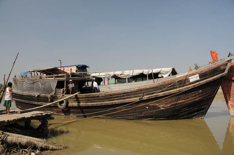 Sittwe, Akyab, Rakhine-Staat, State, Division, Boot, boat, von, nach, to, Mrauk U, Myanmar, Burma, Birma, Kaladan-Fluss, River, Reisebericht, www.wo-der-pfeffer-waechst.de