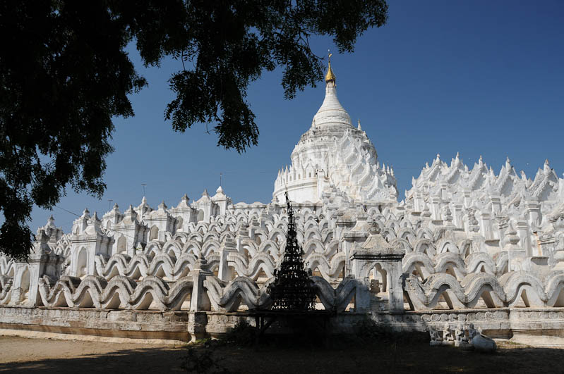 Hsinbyume-Pagode, Pagoda, Tempel, Mingun, Myanmar, Burma, Birma, Reisebericht, www.wo-der-pfeffer-waechst.de