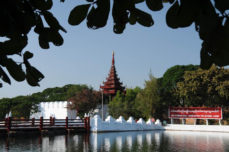 Mandalay, ehemaliger Königspalast, Myanmar, Burma, Birma, Reisebericht, www.wo-der-pfeffer-waechst.de