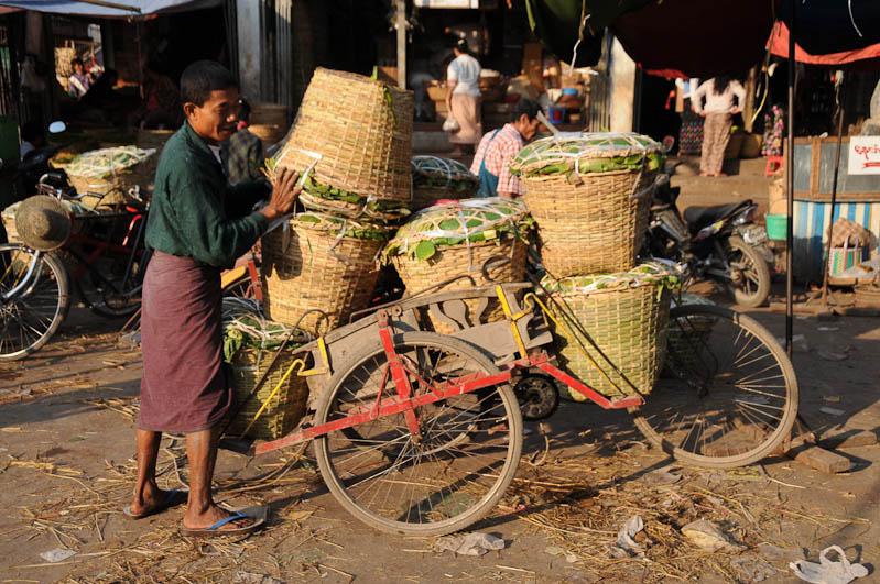Mandalay, Fahrradrikschas, Trishaws, Gemüsemarkt, Myanmar, Burma, Birma, Reisebericht, www.wo-der-pfeffer-waechst.de