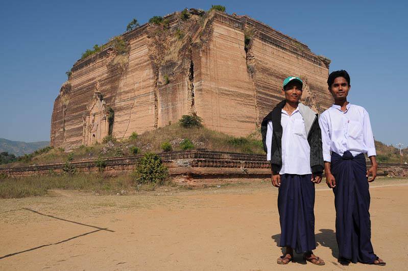 Mingun-Pagode, Pagoda, Tempel, Ruine, Myanmar, Burma, Birma, Reisebericht, www.wo-der-pfeffer-waechst.de