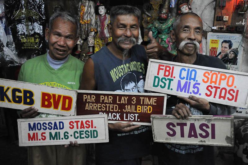 Moustache Brothers, Mandalay, Comedy, comedian, Komiker, Myanmar, Burma, Birma, Reisebericht, www.wo-der-pfeffer-waechst.de
