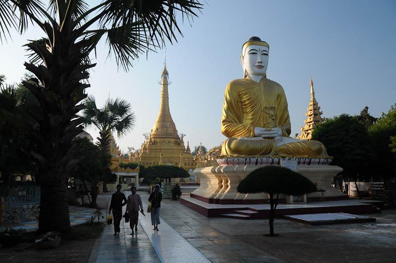 Monywa, Shwezigon-Pagode, Pagoda, Tempel, Myanmar, Burma, Birma, Reisebericht, www.wo-der-pfeffer-waechst.de