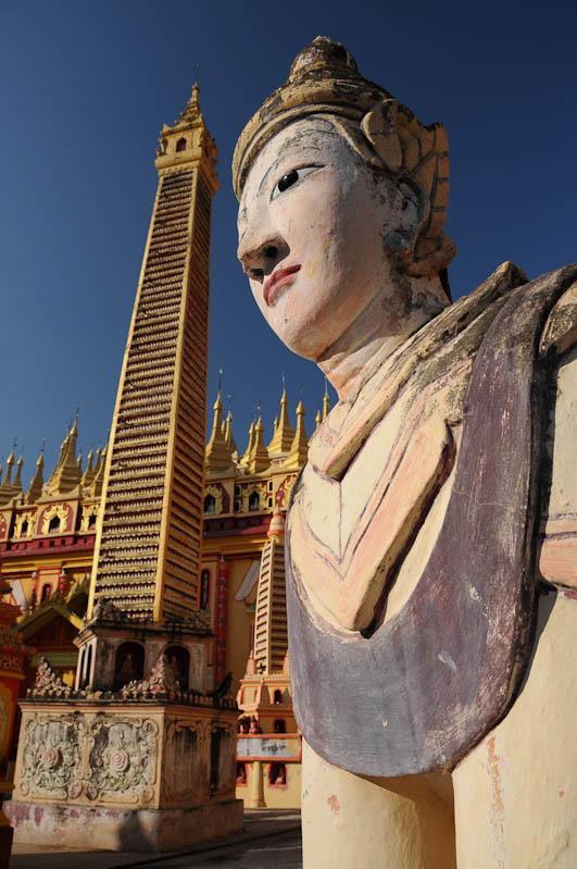 Monywa, Thanboddhay-Pagode, Pagoda, Tempel, Buddha, Myanmar, Burma, Birma, Reisebericht, www.wo-der-pfeffer-waechst.de