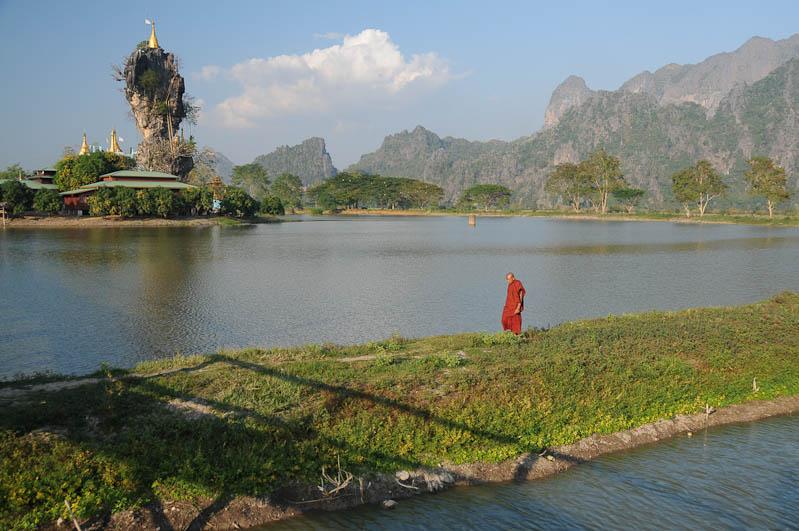 Kyauk Ka Lat-Pagode, Hpa An, Karen, Kayin, Staat, State, Myanmar, Burma, Birma, Reiseberichte, www.wo-der-pfeffer-waechst.de