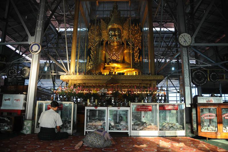 Mawlamyine, Moulmein, Kyaik Thanlan-Pagode, Pagoda, Tempel, Buddhastatuen, Myanmar, Burma, Birma, Reisebericht, www.wo-der-pfeffer-waechst.de