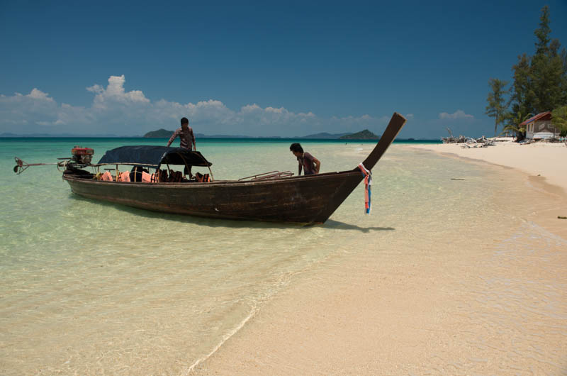 Koh Bulon, Ko Bulon, Leh, Lae, Thailand, Longtailboot, boat, Anreise, Insel, Andamanensee, Bilder, Fotos, Reiseberichte, www.wo-der-pfeffer-waechst.de