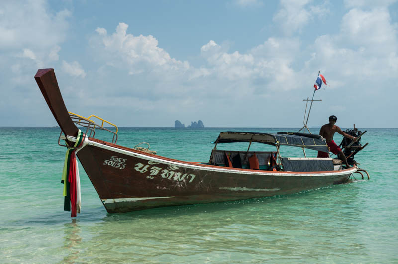 Koh Bulon, Ko Bulon, Leh, Lae, Thailand, Longtailboot, boat, Strand, Strände, Beach, Insel, Andamanensee, Bilder, Fotos, Reiseberichte, www.wo-der-pfeffer-waechst.de