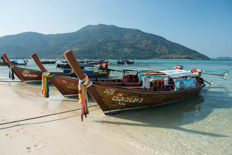 Koh Lipe, Ko Lipe, Koh Adang, Thailand, Sunrise Beach, Strand, Strände, Reiseberichte, Taxi boat, Longtail-Boote, www.wo-der-pfeffer-waechst.de