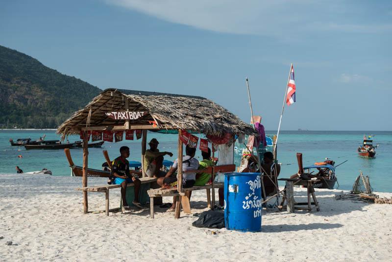 Koh Lipe, Ko Lipe, Thailand, Sunrise Beach, Strand Strände, Taxi boat, Boote, Koh Adang, Reiseberichte, www.wo-der-pfeffer-waechst.de