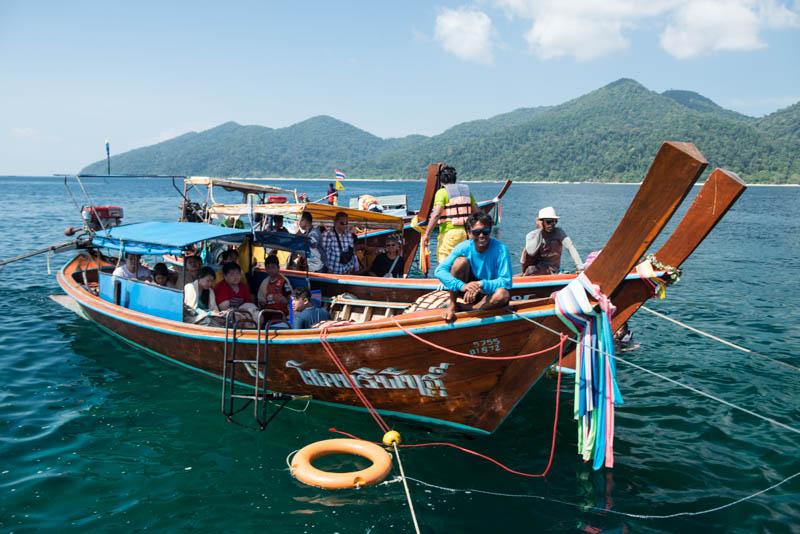 Koh Lipe, Ko Lipe, Thailand, Adang-Archipel, Tarutao, Nationalpark, Wasser, Schnorcheltour, Bootsausflüge, Reiseberichte, www.wo-der-pfeffer-waechst.de