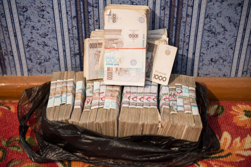 Usbekistan, Uzbekistan, Taschkent, Tashkent, Geld, tauschen, ATM, Som, Sum, Wechselkurs, Seidenstraße, Chorsu, Markt, Reiseberichte, www.wo-der-pfeffer-waechst.de