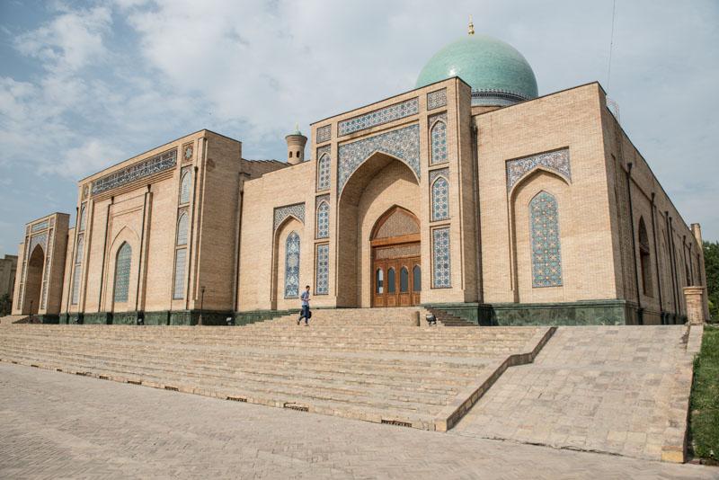 Usbekistan, Uzbekistan, Taschkent, Tashkent, Hast-Imam-Komplex, Hasrati-Iman, Moscheen, Medressen, Mausoleen, Islam, Seidenstraße, Reiseberichte, www.wo-der-pfeffer-waechst.de