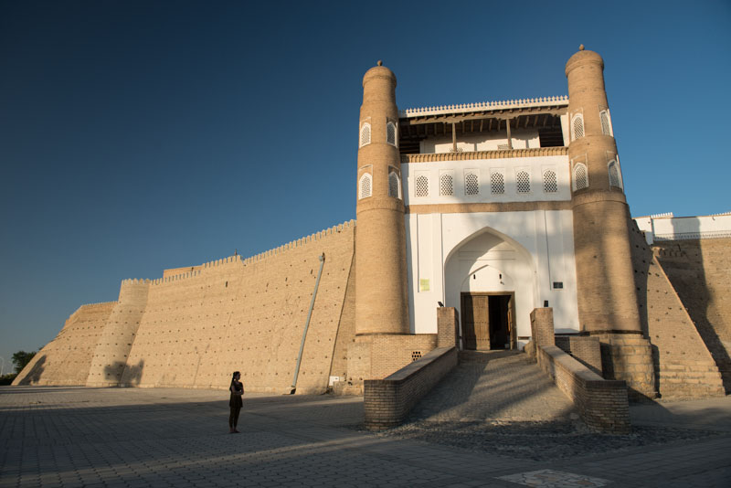 Buchara, Bukhara, Buxoro, Reisen, entlang der, Seidenstraße, Usbekistan, Zentralasien, Ark, Festung, Stadtmauer, Reiseberichte, www.wo-der-pfeffer-waechst.de