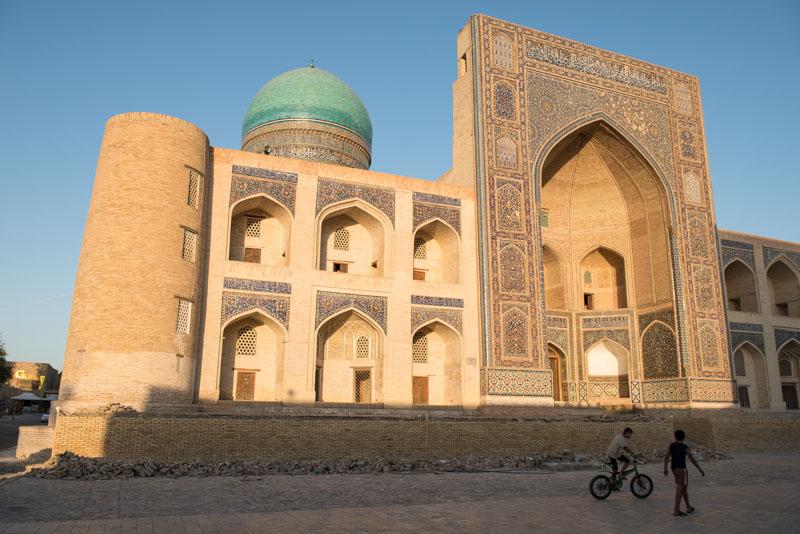 Buchara, Bukhara, Buxoro, Reisen, entlang der, Seidenstraße, Usbekistan, Zentralasien, Mir-i-Arab-Medresse, Reiseberichte, www.wo-der-pfeffer-waechst.de