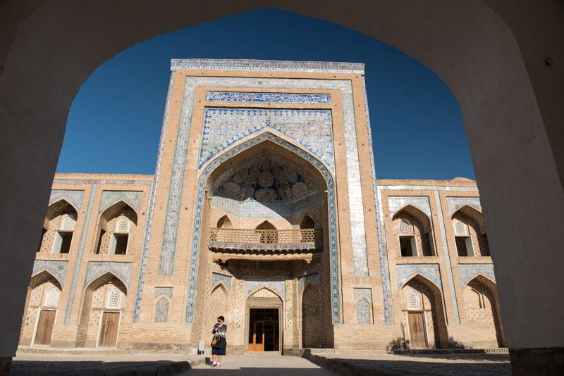 Chiwa, Khiva, Chiva, Xiva, Usbekistan, Uzbekistan, Altstadt, Medresse, Seidenstraße, Reiseberichte, www.wo-der-pfeffer-waechst.de