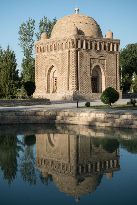 Buchara, Bukhara, Buxoro, Reisen, entlang der, Seidenstraße, Usbekistan, Zentralasien, Samaniden-Mausoleum, Reiseberichte, www.wo-der-pfeffer-waechst.de