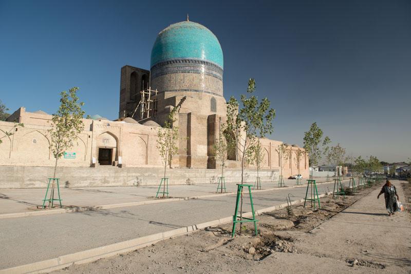 Shahrisabz, Kok-Gumbas-Moschee, Ausflug, Samarkand, Samarqand, Reisen, entlang der, Seidenstraße, Usbekistan, Zentralasien, Reiseberichte, www.wo-der-pfeffer-waechst.de