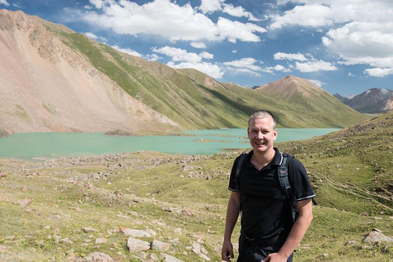 Heiko Meyer, Blogger, Journalist, Reise- und Food-Blog www.wo-der-pfeffer-waechst.de, Reiseberichte, Kochkor, Köl-Ükök, Kirgisistan, Kirgistan, Kirgisien, Seidenstraße, Zentralasien