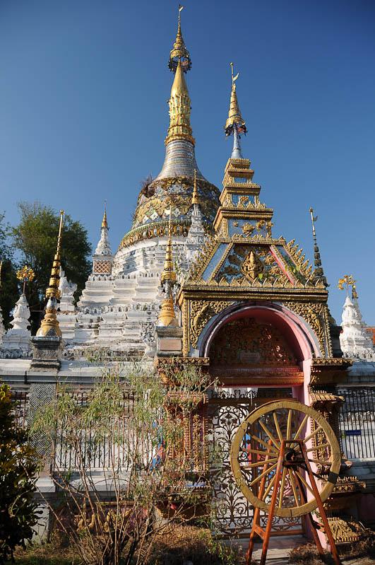 Chiang Mai, Nordthailand, Altstadt, Wat, buddhistischer Tempel, Reisetipps, Reisen mit Kindern, Babys, Kleinkindern, Elternzeit, Asien, Reiseberichte, Reiseblogger, www.wo-der-pfeffer-waechst.de