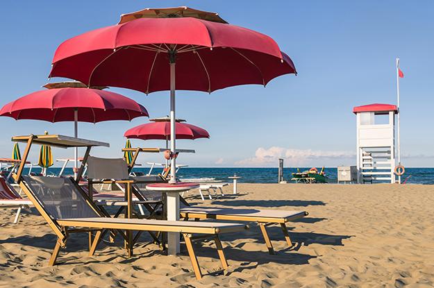 Emilia-Romagnia, Italien, italienische Adriaküste, Strand, Rimini, Urlaub, Ferien, Bravo-Reisen