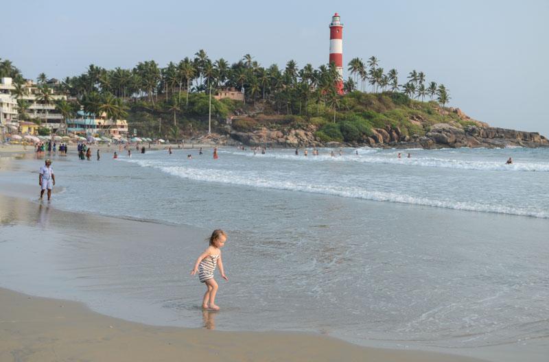 Kovalam Beach, Indien, Südindien, Kerala, Strände, Lighthouse Beach, Leuchtturm, Reisetipps, Reisen mit Kindern, Rundreisen, Asien, Reiseberichte, Reiseblogger, www.wo-der-pfeffer-waechst.de