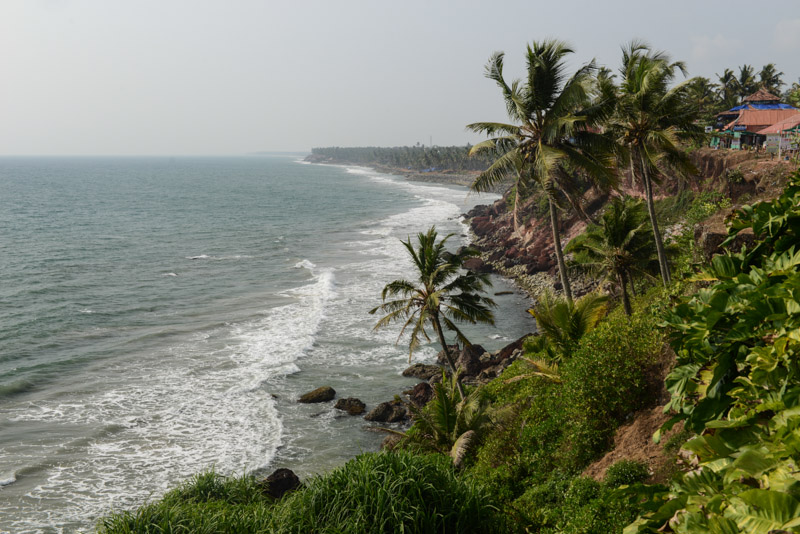 Varkala Beach, Indien, Südindien, Kerala, Strände, North Cliff, South Cliff, Odayam Beach, Reisetipps, Reisen mit Kindern, Rundreisen, Asien, Reiseberichte, Reiseblogger, www.wo-der-pfeffer-waechst.de
