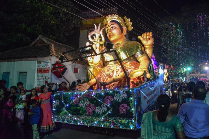 Varkala, Janardhana-Swami-Tempel, Tempelfestival, Kerala, Südindien, LKW, Reisetipps, Reisen mit Kindern, Rundreisen, Asien, Reiseberichte, Reiseblogger, www.wo-der-pfeffer-waechst.de